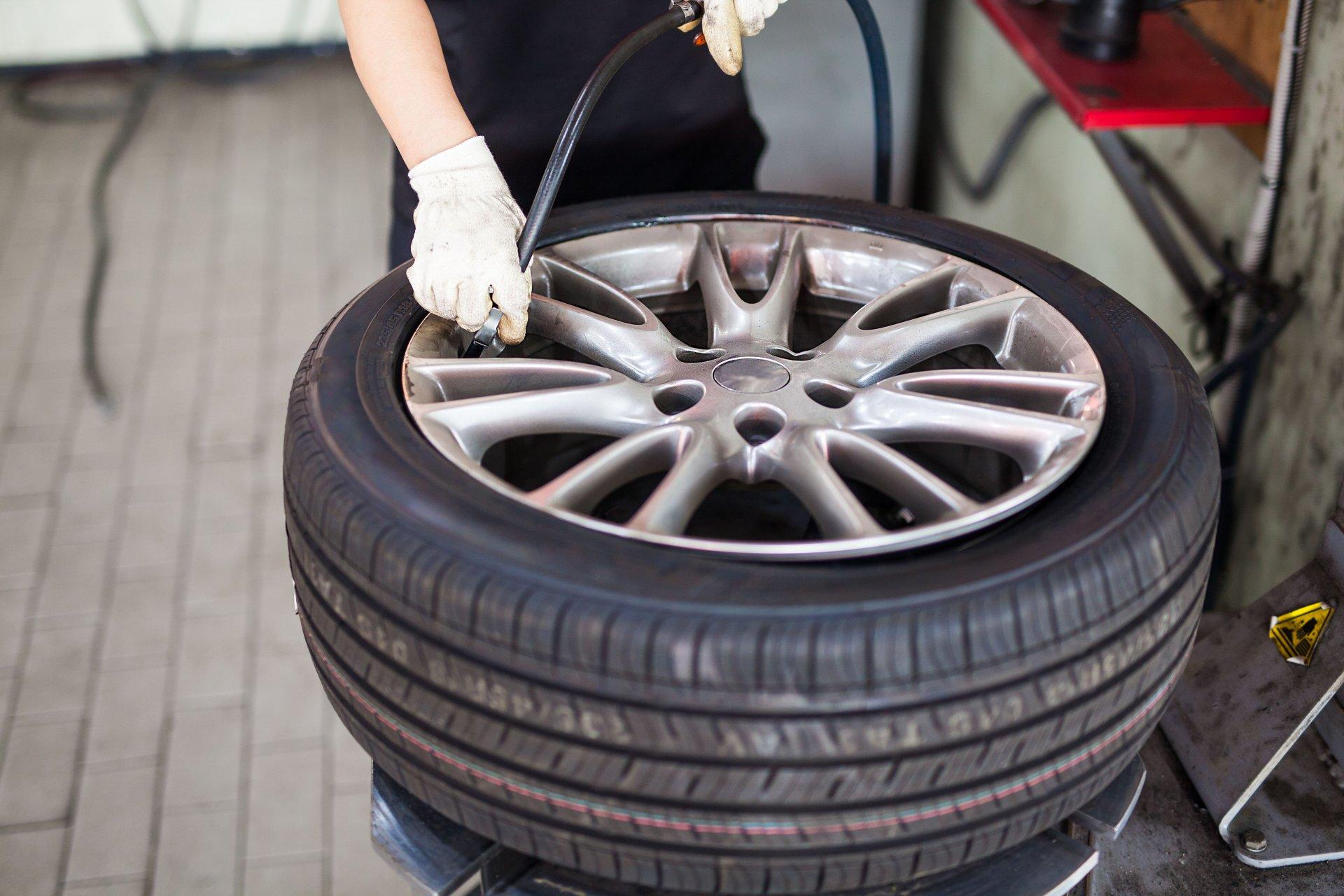 Taller de neumáticos en Valencia