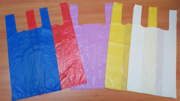Bolsas de plástico para uso alimentario de colores